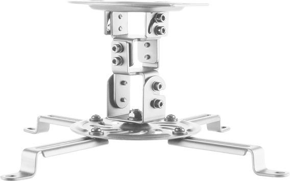 Suporte Universal Projetor De Teto Pro100 Branco Elg
