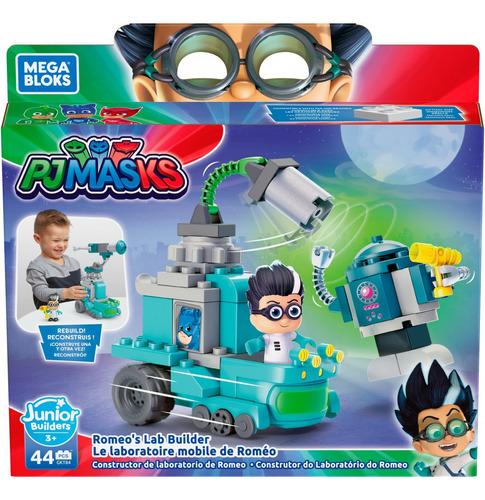 Mega Bloks - Pj Masks Romeo E Robo