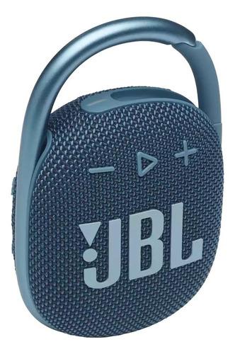Imagen 1 de 2 de Parlante JBL Clip 4 portátil con bluetooth blue