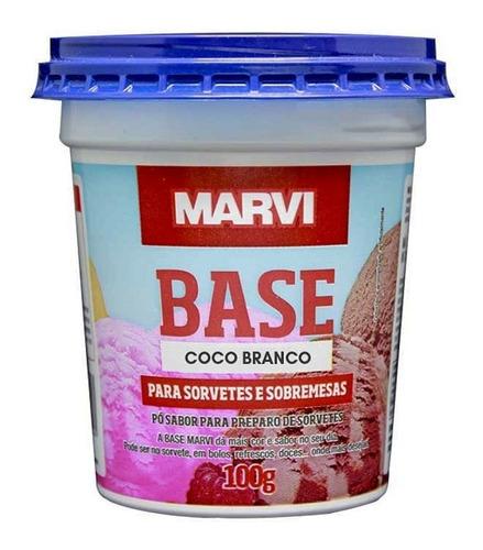Base Para Sorvetes E Sobremesas Marvi