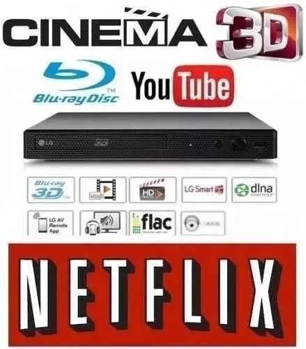 Blu-ray Player 3d Lg Semi Novo