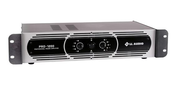 Amplificador Potência Profissional L L Pro 1200 300w Rms Nca