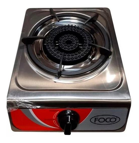 Anafe Industrial Foco 1 H Acero Inox Con Encendido