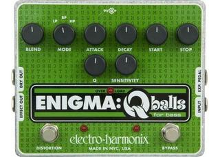 Pedal Electro Harmonix Enigma Q Balls Distortion Bajo Cuotas