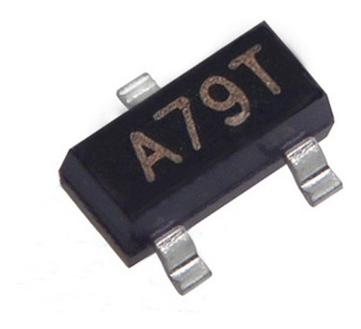 10x Ci A79t - Sot23 - Ao3407 Canal P - 4.1a 30v Smd - Mosfet