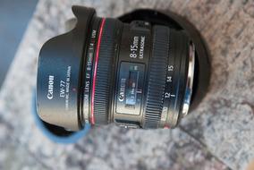 Lente Canon 8-15 F/4.0 Ultrasonic