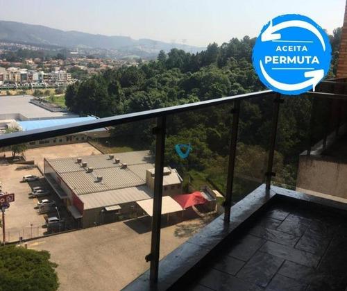 Imagem 1 de 30 de Apartamento Com 3 Dormitórios À Venda, 116 M² Por R$ 650.000,00 - Alphaville - Santana De Parnaíba/sp - Ap1426