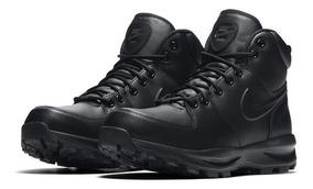 Bota Nike Manoa Leather Negro Piel Caballero 454350 003