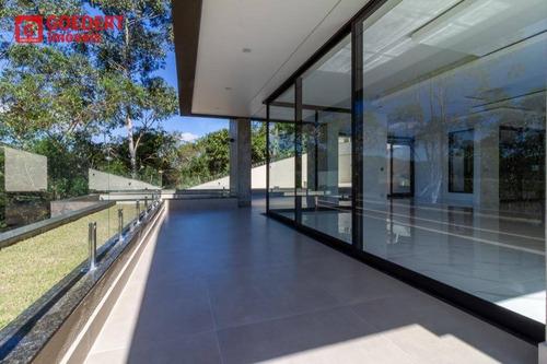 Imagem 1 de 29 de Sobrado Novo, Condomínio Residencial Monterey Ville À Venda, Por R$ 4.250.000 - Jardim Aracy - Mogi Das Cruzes/sp - So0361