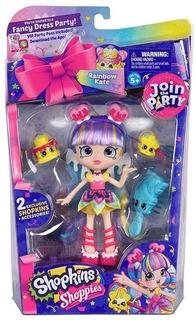 Shopkins Shoppies Season 7 Doll Rainbow Kate Con 2 Exclusiv