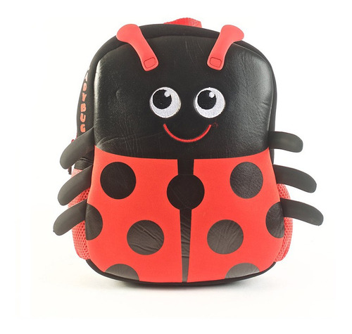 Mochila Kooshi Ladybug 10 Original
