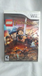 Lego Lord Of The Rings - Nuevo Y Sellado - Wii