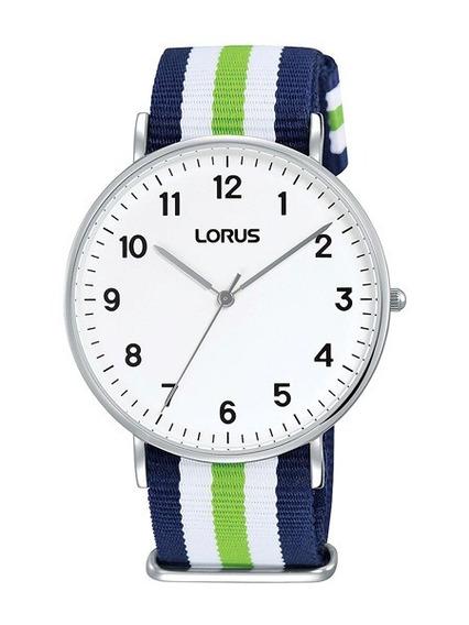 Reloj Hombre Lorus By Seiko Rh817cx8 Malla Tela Hombre