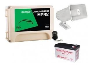 Alarma Vecinal Gran Alcance 100 Mts Lineales+10 Controles