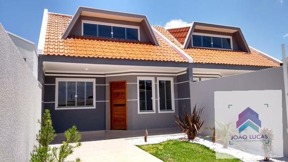Casa Com 2 Dorms, Eucaliptos, Fazenda Rio Grande - R$ 249 Mil, Cod: 12 - V12