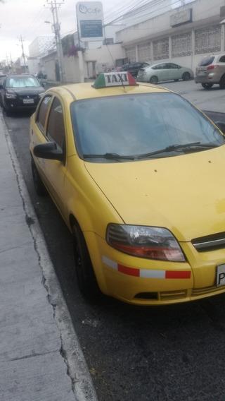 Vendo Taxi Idóneo Aveo 2012 De Oportunidad