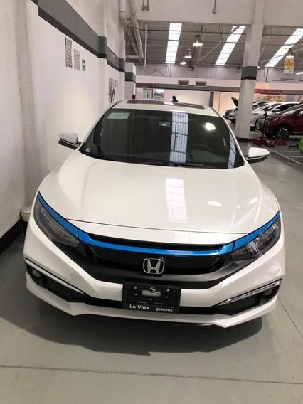 Honda Civic Touring 2020 Turbo 1.5, Asegurado, Emplacado