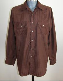 Bj-r Camisa Vaquera / Western Shirt Talla L