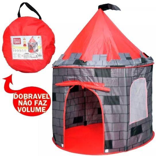 Barraca Infantil Castelo Para Meninos Homens Grande Nova