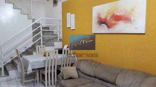 Imagem 1 de 14 de Sobrado Com 2 Dormitórios À Venda, 100 M² Por R$ 360.000,00 - Vila Nhocune - São Paulo/sp - So1161