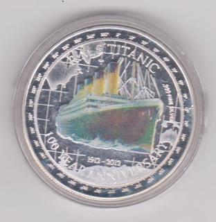Moneda Titanic Cien Años 1912-2012