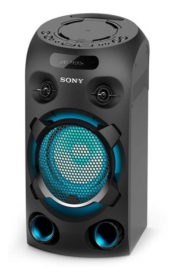 Mini System Sony Mhc-v02 Preto - Bivolt