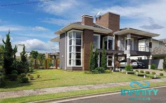 Casa De Condomínio Com 3 Dorms, Alphaville, Gravataí - R$ 2.335.000,00, 350m² - Codigo: 289 - V289