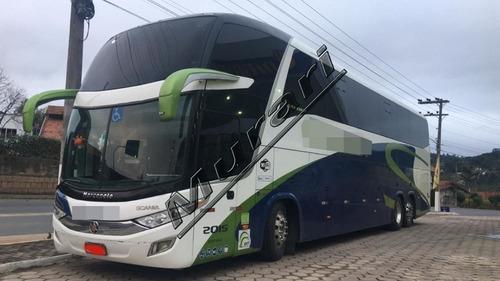 Imagem 1 de 14 de Pardiso Ld 1600 G7 Scania K360 2014 44 Lug Optcruise Ref 597