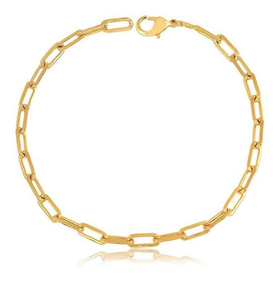 Pulseira Cartier Masculina Banhada A Ouro 18k Com Garantia
