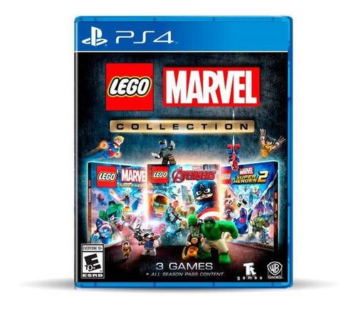 Lego Marvel Collection (nuevo) Ps4 Físico, Macrotec
