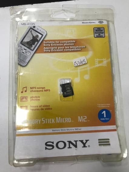 Cartão De Memória Sony M2 1gb