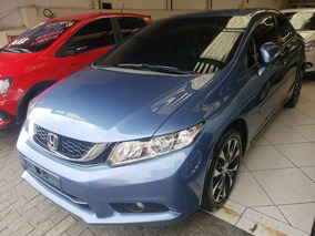 Honda Civic Lxr 2.0 16v Flex Automático 2015 Impecável!