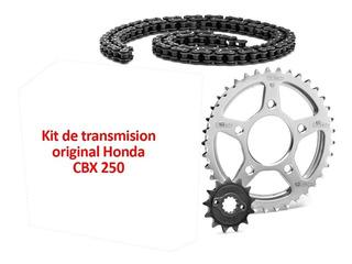Kit Transmision Orig P/ Honda Cbx 250 Twister Hamp Yuhmak