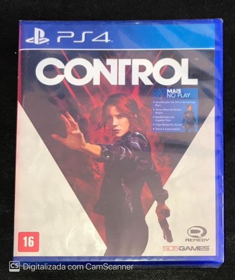 Control (mídia Física) Ps4 (legendado Em Português)