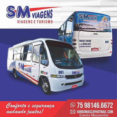 Imagem 1 de 1 de Precisa Alugar Um Micro Ônibus Para Viagens  Em Geral? Achou