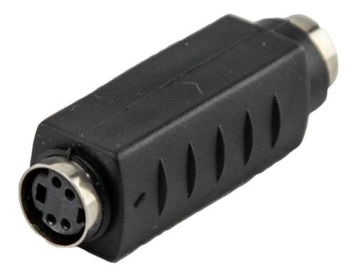 2 Adaptador Super S-video Hembra A Hembra Unir Cable 1° Htec