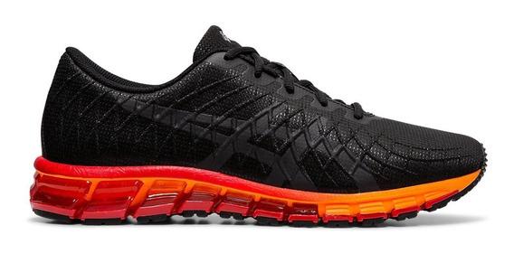 Asics Zapatillas Running Hombre Gel Quantum 180 4 Negro-rojo