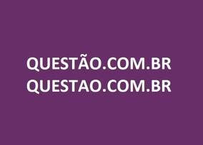 Domínio/site Questão.com.br Questao.com.br