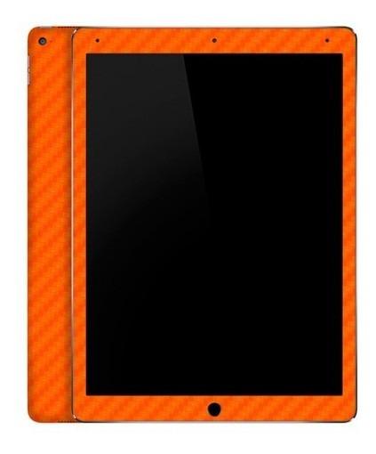Skin Garage42 Fibra De Carbono Laranja iPad Pro 12.9 (2015)
