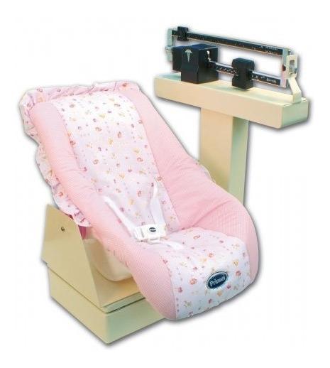Bascula Pediatrica Mecanica Con Porta Bebe De 30 Kg