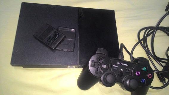 Ps2 - Playstation 2 + 2 Controles + 40 Jogos!!