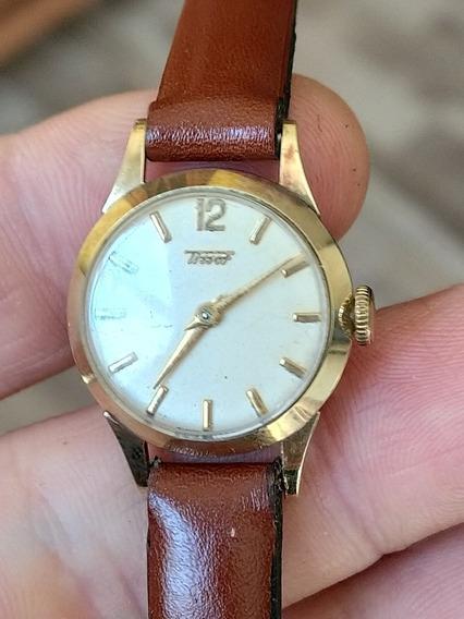 Relógio Tissot Feminino Em Ouro 14k 22/24mm