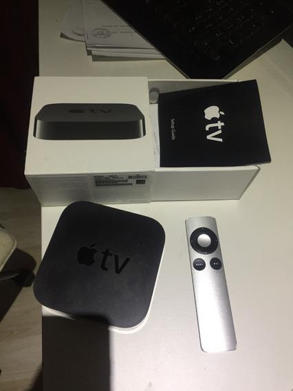 Apple Tv 3.a Geração,perfeito Estado,c/ Todos Os Acessórios