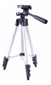Tripe Camera Profissional 1.2 Metros C/ Nivel + Bolsa Brinde