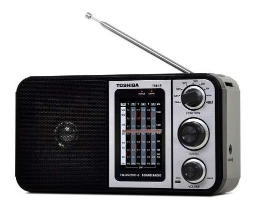 Rádio Portati Am/fm Entrada Usb Toshiba Tr849