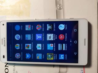 Celular Sony Xperia Z3 Compact Branco 16gb 2gram Novo Leia