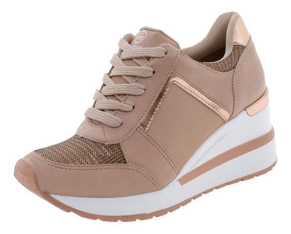 Tênis Feminino Sneaker Via Marte - 193353 Rosa