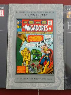 Hq Vingadores Biblioteca Histórica Marvel Volume 1 Panini