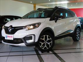 Renault Captur 1.6 16v Sce Flex Intense X-tronic Branca