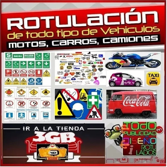 Full Vectores Rotulados Autos Motos Tuning Stickers Pegatina